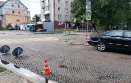 На улице Чернышевского в Калининграде автомобиль сбил 13-летнего мальчика