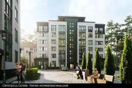 Калининградские архитекторы одобрили концепцию двух шестиэтажных домов в Светлогорске