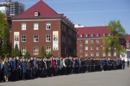 Более тысячи калининградских школьников познакомились с армейским бытом