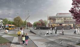 «Городская гостиная и ландшафтный парк»: в Калининграде показали проект благоустройства сквера у Дома искусств