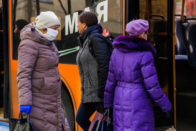 В калининградские автобусы не пускают пассажиров без масок