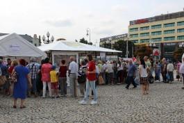 Более 1600 калининградцев прошли медобследование на площади Победы