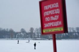 Почему калининградцы гуляют по Верхнему озеру, несмотря на плюсовую температуру?