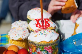 «Накануне Пасхи»: как у собора Христа Спасителя в Калининграде освящали куличи