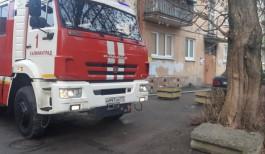 Из горящей квартиры на улице Горького в Калининграде спасли ребёнка