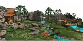 Соколова показала проект нового медвежатника для калининградского зоопарка