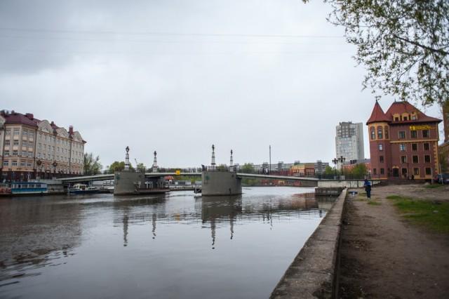 В ночь с четверга на пятницу в Калининграде разведут два моста