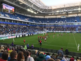 Сборная Грузии выиграла чемпионат Европы по регби в Калининграде