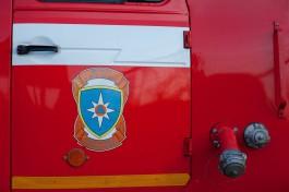 В Полесском округе произошёл пожар на мебельной фабрике