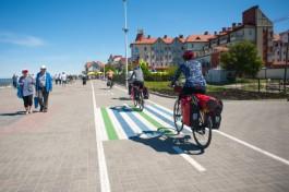 В Зеленоградске заменят плитку по маршруту велодорожки на променаде