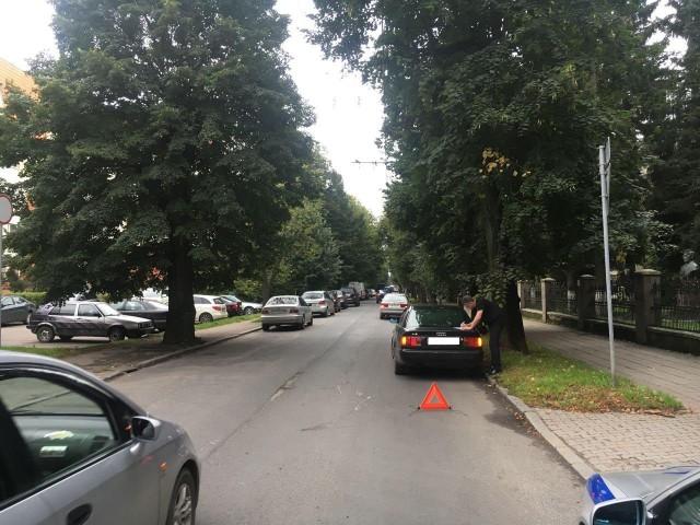 78-летнего пенсионера навелосипеде сбили вКалининграде