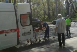 Очевидцы: На Гвардейском проспекте сбили участника траурного митинга, посвящённого аварии в Чернобыле