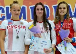 Пловцы из Калининграда выиграли четыре медали чемпионата России