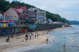 Эксперт: После установки бун комфортный пляж в Светлогорске можно намыть за один год