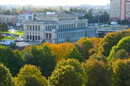 «Вид со шпиля»: как выглядит Калининград с башни Кафедрального собора