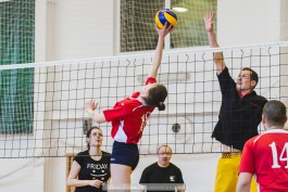 «Ко Дню радио»: в Зеленоградске прошёл корпоративный турнир по волейболу