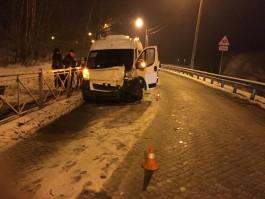 Под Черняховском автобус с детьми попал в ДТП