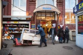 Торговцев Центрального рынка Калининграда выселяют из колбасных павильонов
