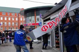 «Мэрия слезам не верит»: как у Северного вокзала продуктовый павильон сносили