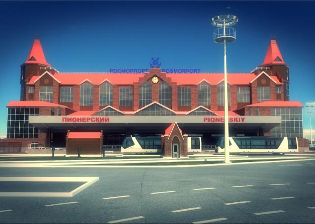 Настроительство круизного терминала вПионерском выделили 856 млн руб.