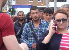 Калининградские полицейские проверили более ста иностранцев на Центральном рынке
