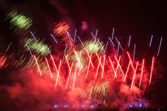 Набалтийском курорте удачно прошел Чемпионат мира пофейерверкам