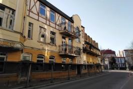 В Зеленоградске выбрали цвета для здания исторического отеля «Восточная Пруссия»