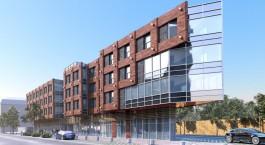 Инвестор офисного здания-треугольника на улице 9 Апреля просит расширить площадь для застройки