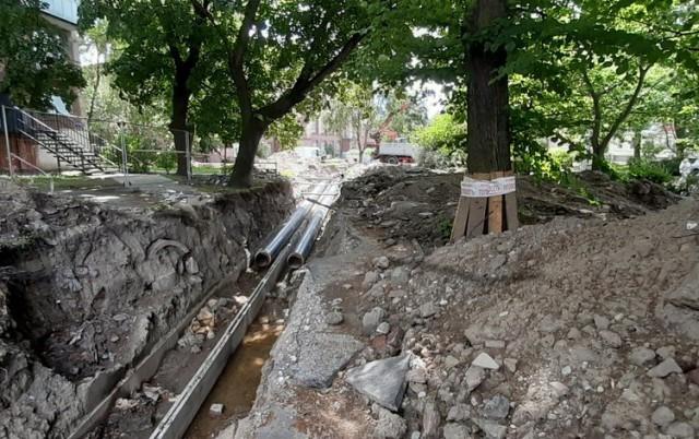 Мэрия: На улице Рокоссовского удалось избежать вырубки большей части деревьев