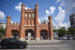В Калининграде планируют отреставрировать горельефы королей и гербы на фасаде Королевских ворот