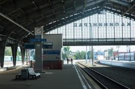 РЖД отменили торги на реконструкцию платформы Южного вокзала в Калининграде