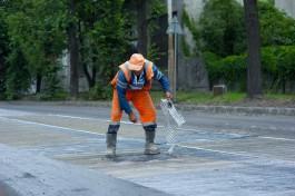 В Калининграде приступили к ремонту 12 улиц