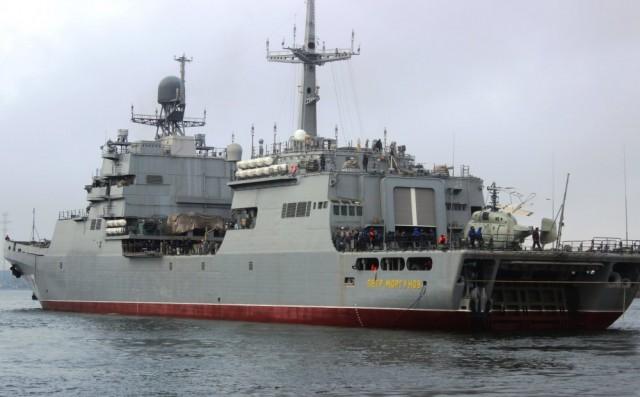 Десантный корабль «Пётр Моргунов» закончил госиспытания в Балтийском море