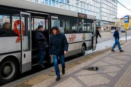 В Калининграде переведут общественный транспорт на режим выходного дня с 28 октября по 7 ноября
