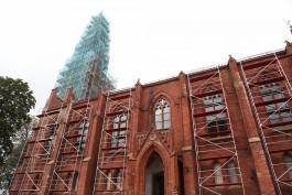 «Оказалось сложнее»: как восстанавливают кирху Хайнрихсвальде в Славске