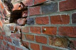 В Калининграде очистили стены форта №8, которые разрисовали во время съёмок фильма