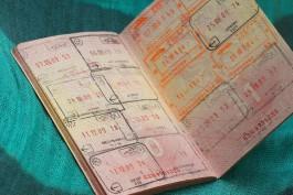 Европарламент отменит штампы в паспорте при пересечении границы