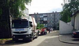 Из-за аварии жители нового микрорайона Калининграда остались без воды