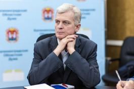 Игорь Ревин подал документы на довыборы в Госдуму от Калининградской области