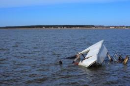 В Куршском заливе обнаружили тело третьего пропавшего рыбака