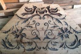 В историческом здании в Зеленоградске нашли деревянные панно начала XX века