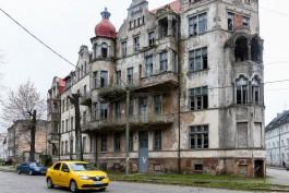 Суд обязал собственника дома Мюллера-Шталя в Советске заняться сохранением здания