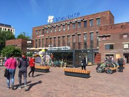 В мэрии пригрозили «жёсткими мерами» собственникам нелегального велобазара на площади у ТЦ «Эпицентр»