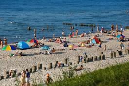В Зеленоградске установят экспериментальную систему для сохранения пляжей