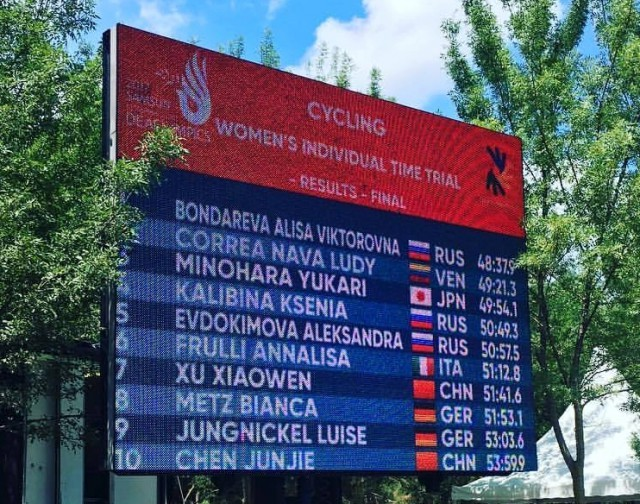 Победа наСурдлимпийских играх