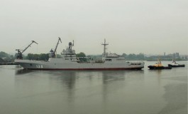 Военный корабль из Калининграда спас от шторма катер в Финском заливе