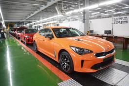 «Автотор» запустил производство обновлённой модели Kia Stinger в Калининграде