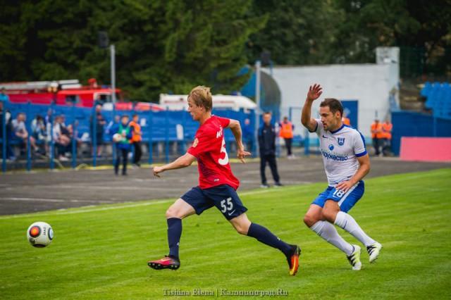 Футболисты «Енисея» разгромили «Балтику» срезультатом 5:0