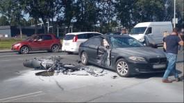 Момент смертельного ДТП на Невского в Калининграде попал на видео