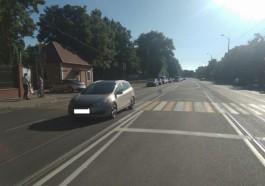 На улице Суворова в Калининграде «Киа» сбила 32-летнего мужчину на переходе